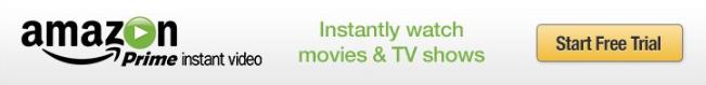 Amazon Prime white green text yellow trial