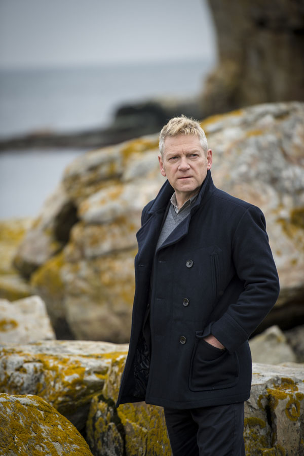 Kenneth Branagh as Kurt Wallander