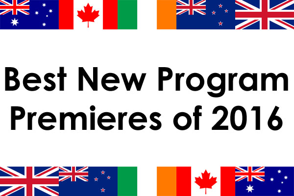 Best New Program Premieres of 2016