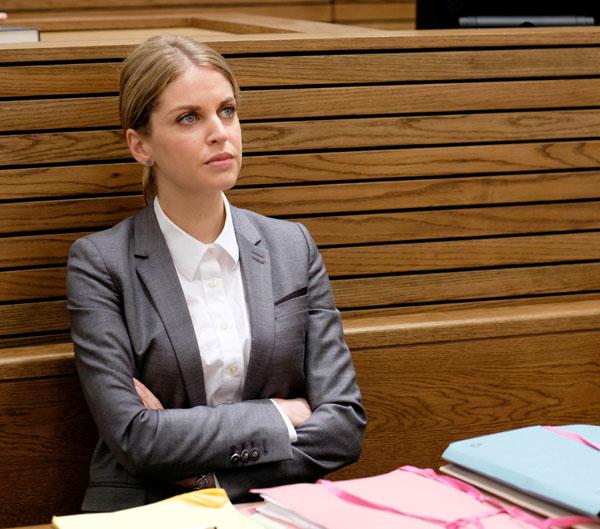 Striking Out - Amy Huberman as Tara Rafferty
