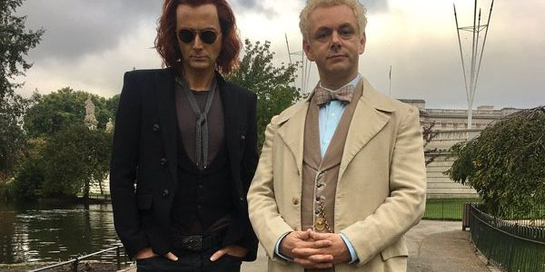 Good Omens: David Tennant & Michael Sheen Begin Filming TV Adaptation of Bestselling Novel by Terry Pratchett & Neil Gaiman