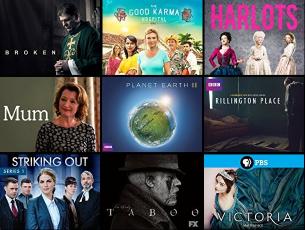 Favorite British TV Shows of 2017