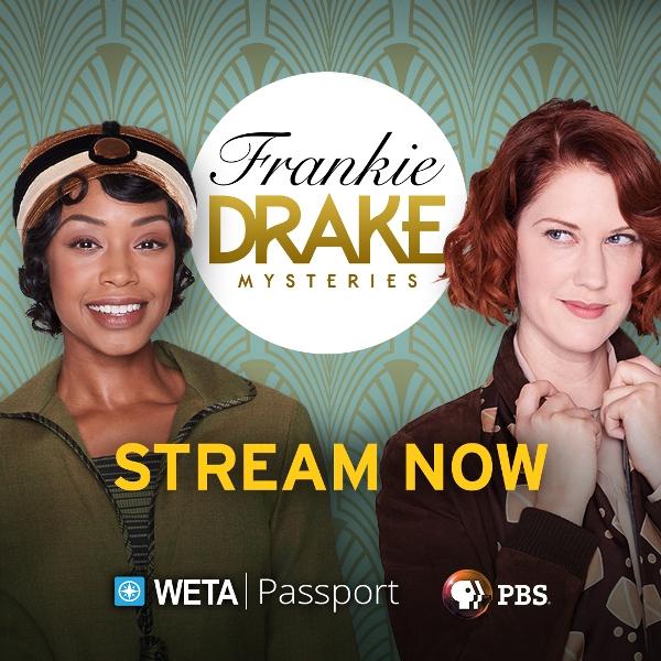 Frankie Drake Mysteries on WETA & PBS