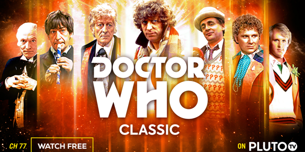 Doctor Who Classic channel on Pluto TV