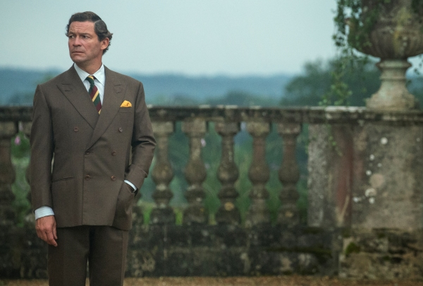 Dominic West in The Crown S5